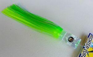 "Tuna Marlin Mahi UV SKIRT Richter Lures 8/"" UV Soft Grassy"
