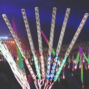 1x LED Magic Wand Multi Color Changing Party Concert Neon Glow Light-Stick