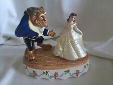 Disney Schmid Beauty and The Beast Porcelain Music NIB