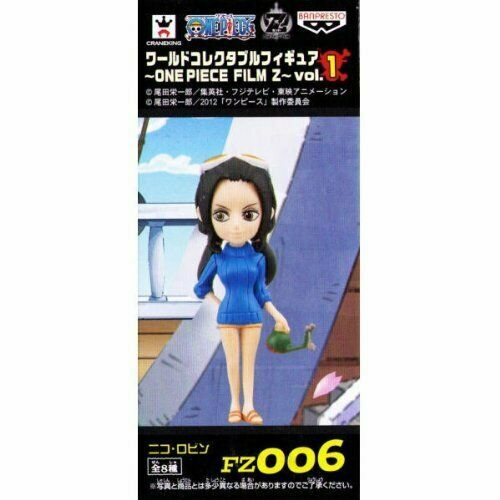 One Piece World Collectable Figure ~ ONEPIECE FILM Z ~ Vol1 robin