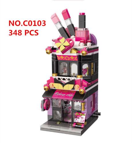 ENLIGHTEN C0103 Kids Building Toys MINI Blocks Girls Puzzle makeup Shop no box