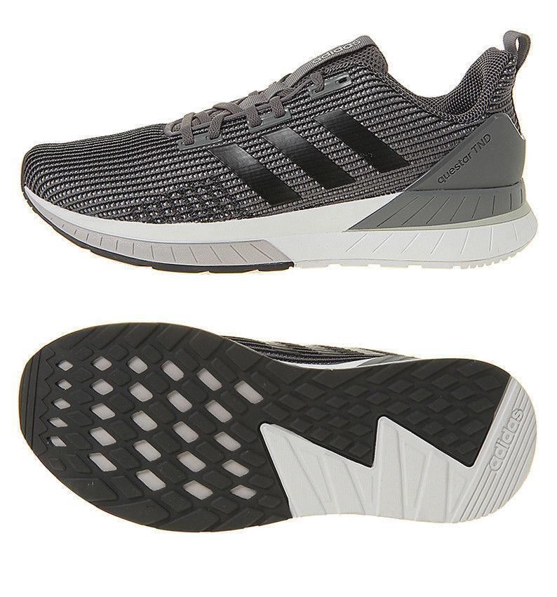 Adidas Questar TND gris Negro DB1614 Running zapatos Talla & 9