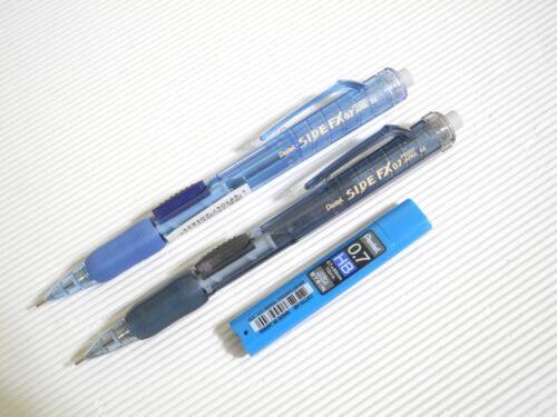 Japan 2pcs TA Pentel SIDE FX PD257 0.7mm Automatic pencil free pencil lead
