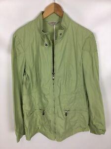 Details zu CANDA Jacke, grün, Größe 42, 100% Baumwolle