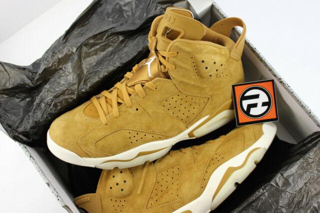 cbe3727322a Nike Air Jordan 6 VI Retro Golden Harvest Wheat Size 13 VNDS ...