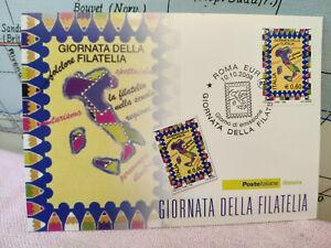 Qualifié Cartolina Timbro 2008 Poste Giornata Della Filatelia Roma L5