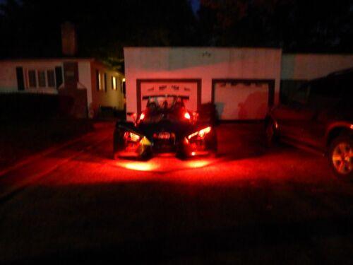 16pc 18 Color Change Led Polaris Slingshot Motorcycle 16pc Led Pod Light Kit