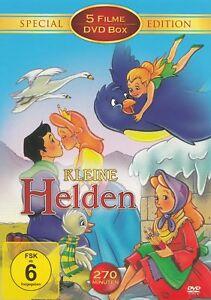 Kleine-Helden-5-Zeichentrickfilme-DVD-NEU-OVP