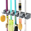 Vicloon-Broom-Mop-Holder-Tidy-Organizer-Wall-Mounted-Organizer-with-5-Position thumbnail 1