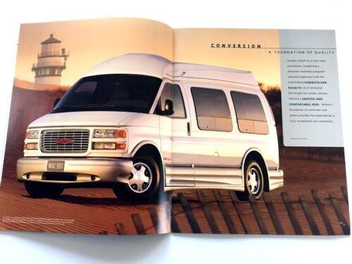 1999 GMC Truck Savana Van 28-page Cargo and conversion Sales Brochure Catalog
