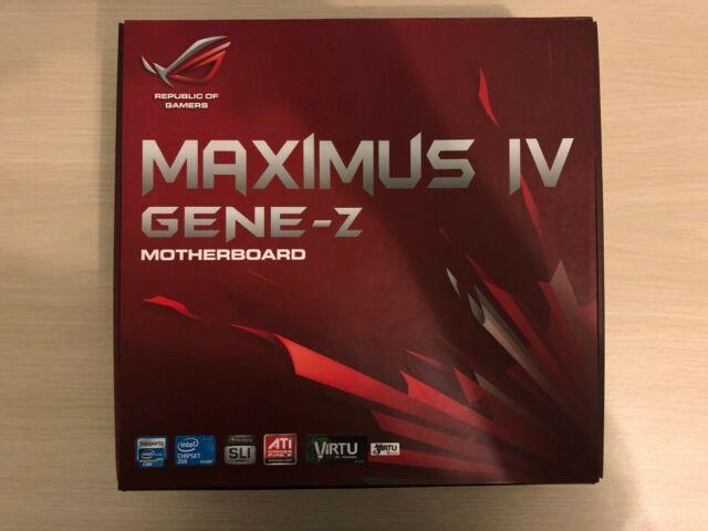 Asus ROG Maximus IV Gene-Z Motherboard