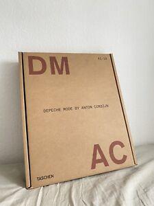 taschen xxl book buch depeche modeanton corbijn dm ac