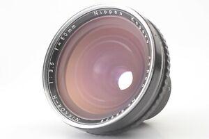EXC-Nikon-Nippon-Kogaku-Nikkor-H-50mm-f-3-5-Objektiv-fuer-Bronica-EC-s2-Japan