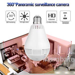 Video Surveillance Surveillance Cameras Hd 960p Led Light Bulb Home Security Surveillance Wifi Camera Nvr Bulb Lamp P2p Camera Smartphone App Contol Camera
