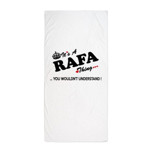 1966205699 CafePress RAFA Thing You Wouldn/'t Understand Beach Towel