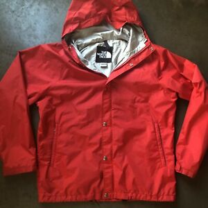 a27212026 Details about Men's Vintage 80s The North Face TNF Gore Tex Red Hooded  Windbreaker Jacket Sz L