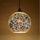 Modern 3D Creative Glass Lampshade Chandelier Ceiling Restaurant Bar Decor Light