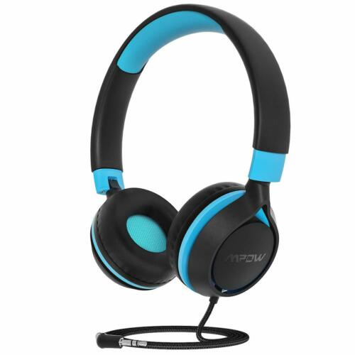 Mpow Kids Headphones safe Over-ear Foldable Headset for Baby Childs Boys Girls