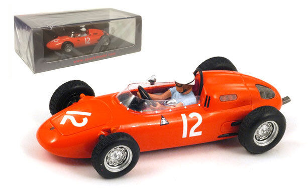 Spark S1866 Porsche 718 718 718 th US GP 1963 - Carel Godin de Beaufort 1 43 Scale 5b1d2d