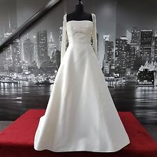 Vintage Look Sequin Gown with Train (Ivory-Size 10) Wedding etc. RRP £600+