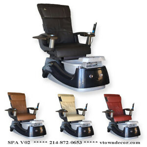 NEW Pedicure Spa Chair Nail Salon Full Function Massage Chair HT138 ...