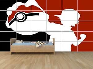 Pokemon Art Design Geant Poster Chambre Enfants Room Kids