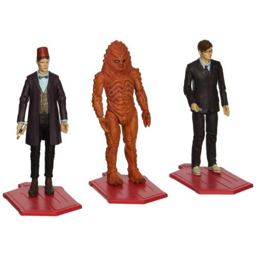 "NEW Dr Who The Day of the Doctor 3.75"" Action Figure Collector Set Character"