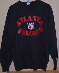 vintage Atlanta Falcons NFL Eric Metcalf  team issued Russell sweatshirt XXL
