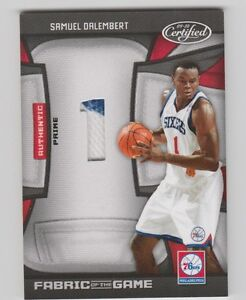 Samuel-Dalembert-76ers-2009-2010-Certified-Fabric-Of-The-Game-FOG-SD-7-25