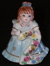 Lefton Age 2 Year Old Birthday Girl Figurine - Marika - Cake Topper