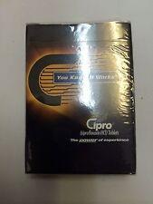 NIP CIPRO Playing Cards Drug Rep Advertising BAYER Collectible Poker Blackjack