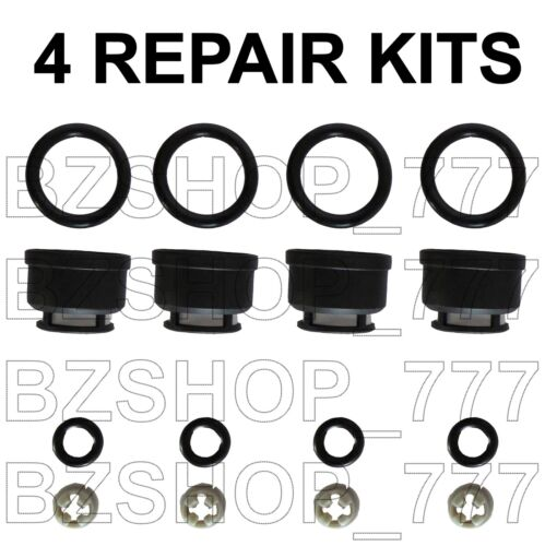 Fuel Injector Repair Kit Filters Seals O-Rings for Nissan Infiniti 4cl