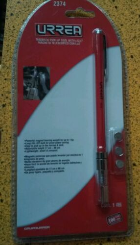 URREA 2374 MAGNETIC PICK UP TOOL WITH LIGHT