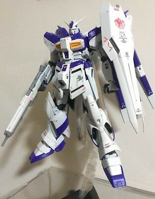 Built MG 1//100 RX93 Hi nu gundam Ver ka on decals Assembled model