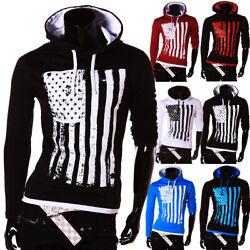 Herren Kapuze Pullover Damen Brooklyn Sweatshirt Hoodie T-Shirt USA Amerika Neu