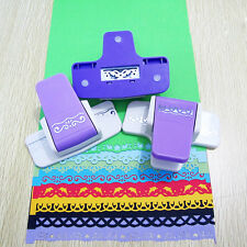 New Printing Paper Hand Shaper Tags Card DIY Scrapbook Craft Punch Cutter Tool