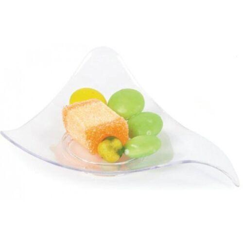 48 Mini Triángulo Canapé Platos De Plástico - Buen Pequeña Fiesta Boda Cumpleaños