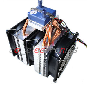 Details about Thermoelectric Peltier Refrigeration Water Chiller Cooling  System Cooler Device