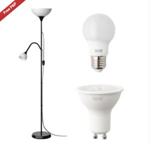 ikea reading light bulb