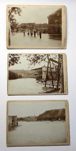 3-Orig-Fotografien-Hochwasser-Rottwerndorf-1897-Pirna-Sachsen-Uberschwemmung-xz