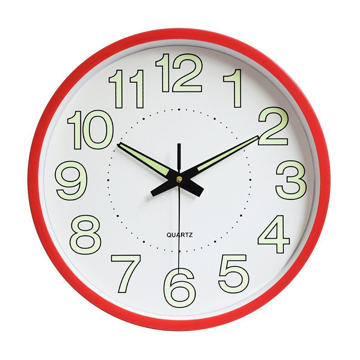 30cm Super Quite Clock Non Ticking Quartz Wall Clock Home Decor