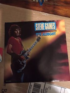 STEVE-GAINES-039-039-Its-Alright-039-039-1988-7in-45-Lynyrd-Skynyrd