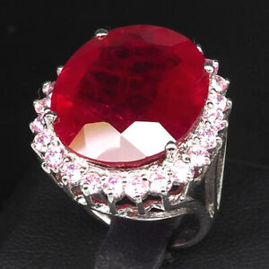 PIGEON-BLOOD-RED-RUBY-26-CT-SAPPHIRE-925-STERLING-SILVER-JEWELRY-RING-SZ-6-25