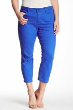 NYDJ Not Your Daughters Jeans Audrey Stretch Twill Ankle Straight  14W NWT