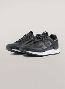 Sneakers-Donna-Colmar-Travis-Punk-Scarpe-Glitterate-Nere-Argento-Beige-Nuove