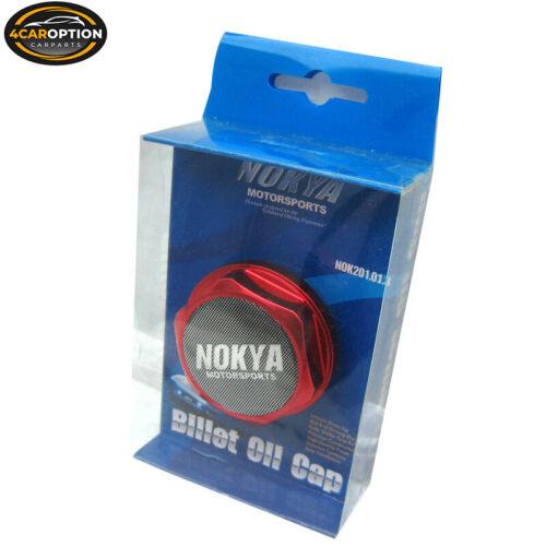 Fits Honda  Nissan Integra Sentra Nokya Sport Hexagon Engine Oil Cap Cover Red