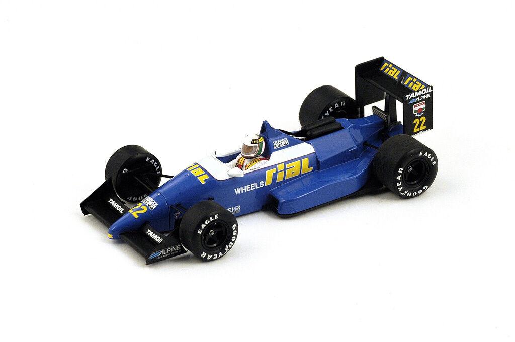 SPARK RIAL ARC1 #22 Belgium GP 1988 Andrea Andrea Andrea De Cesaris  S4311 1/43 8ec366