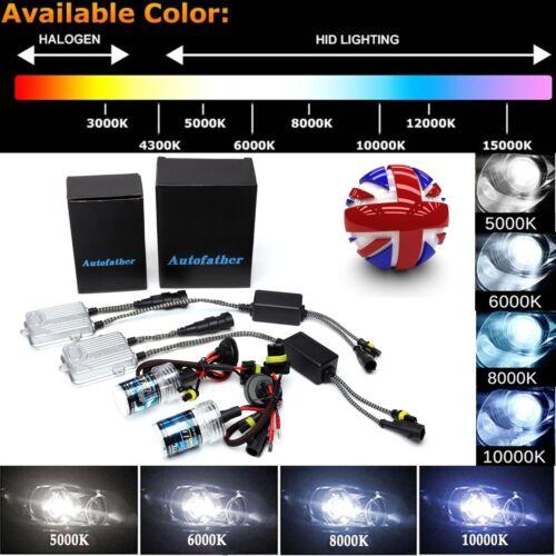 Xenon HID KIT 9006 9005 H1 H7 H11 H3 Lights Slim Metal Based Ballast 6000K 8000K