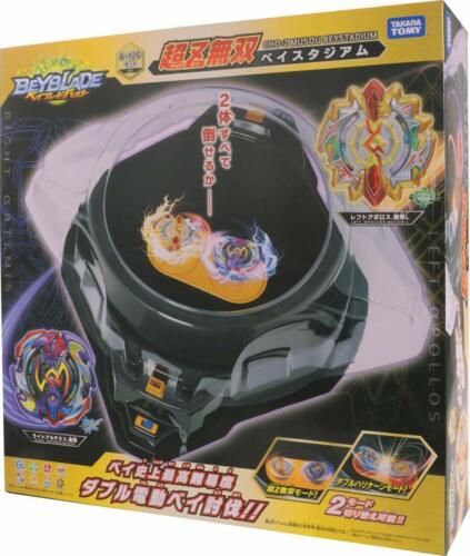 TAKARA TOMY Beyblade Burst B-126 Ultraman Muso Bay Stadium JAPAN NEW w//Tracking