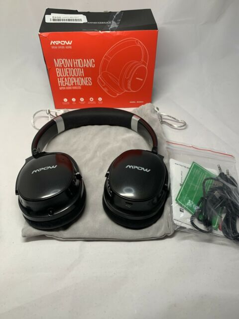 Mpow H10 Dual Mic Noise Cancelling Bluetooth Headphones 2019 Edition Anc Over For Sale Online Ebay